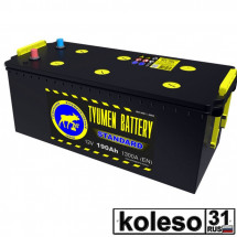 Tyumen Battery 190Ah 1300A П/П Pb/Ca